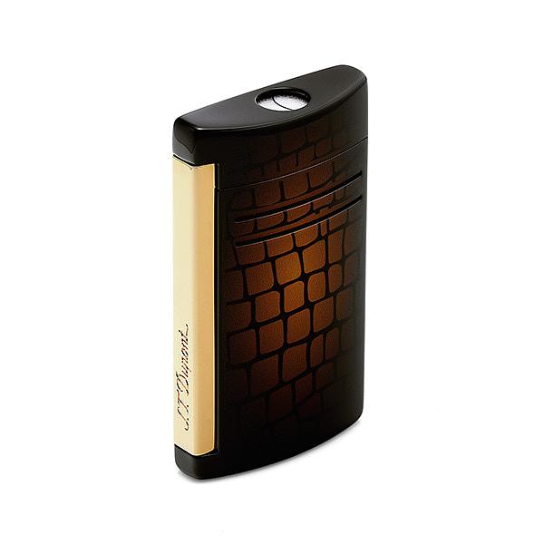 [듀퐁 S.T.DUPONT] 020168N(020168N) / Maxijet Croco Dandy Brown Lighter 멕시젯 크로코 댄디 브라운 라이터 타임메카