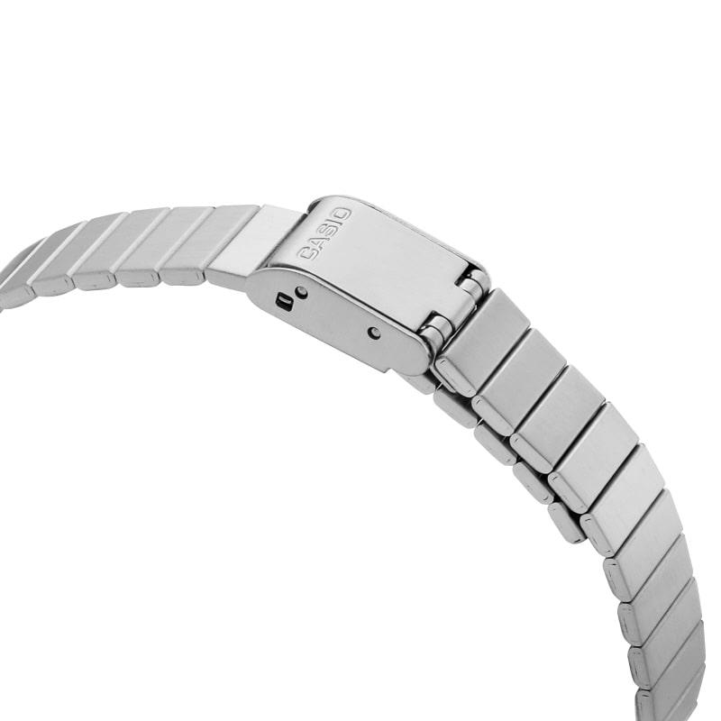 카시오(CASIO) LA670WA-1SDF (LA670WA-1S) 은장 디지털 남여공용 메탈시계