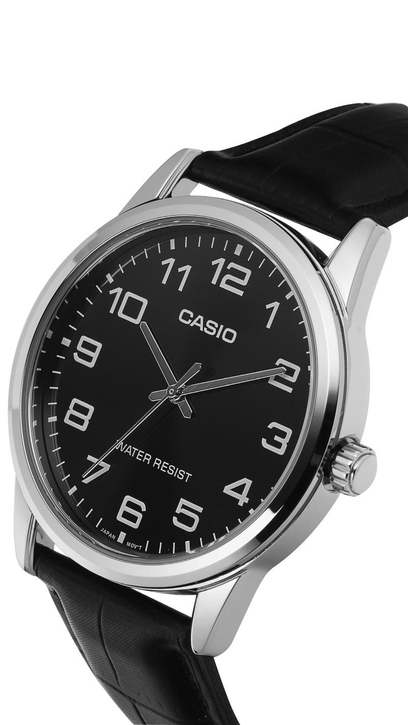 카시오(CASIO) MTP-V001L-1BUDF 아날로그 남성 가죽시계