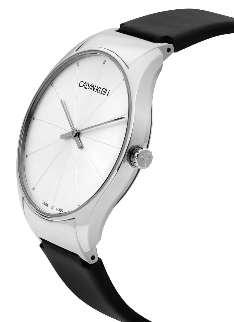 캘빈클라인(CALVIN KLEIN) K4D211C6 클래식 투 남녀공용 가죽시계