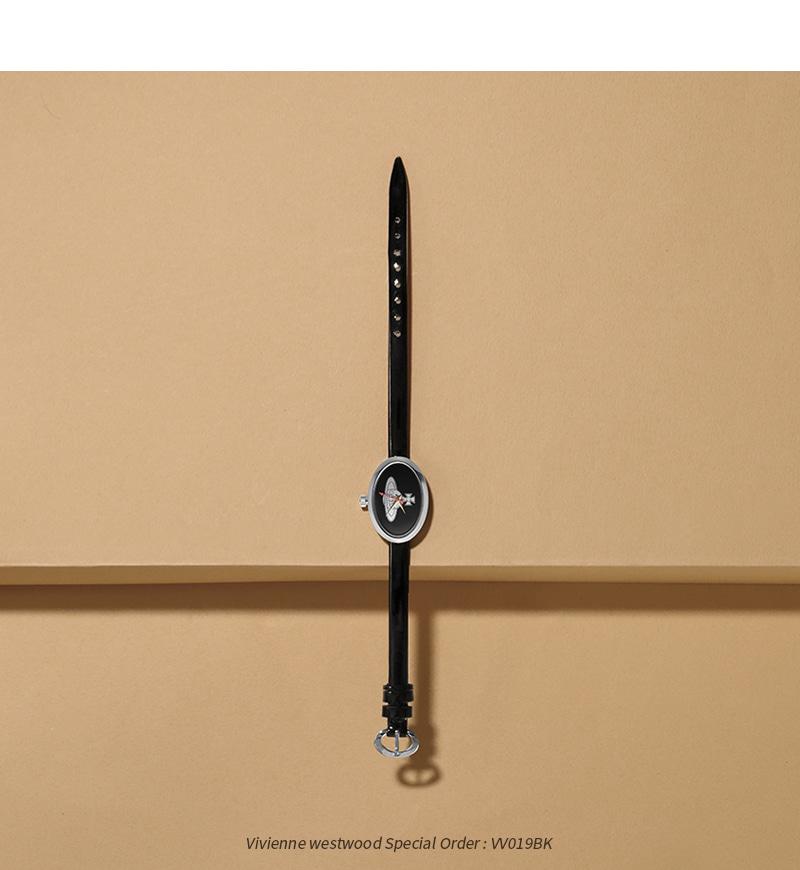 비비안 웨스트우드(VIVIENNE WESTWOOD) VV019BK 스페셜1 쿼츠 여성 가죽시계